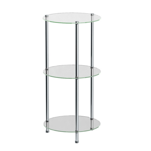Gatco Taborat 14'' W x 29.63'' H Bathroom Shelf by Gatco