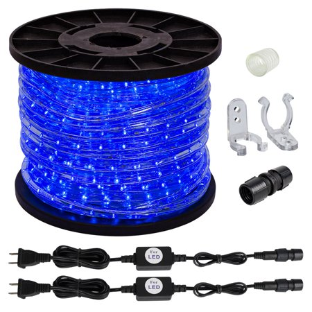 150ft blue 2 wire led rope lights home inoutdoor christmas 150ft blue 2 wire led rope lights home inoutdoor christmas lighting w aloadofball Choice Image