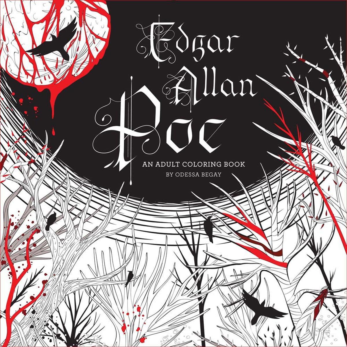 Lark Books-Edgar Allan Poe: An Adult Coloring Book