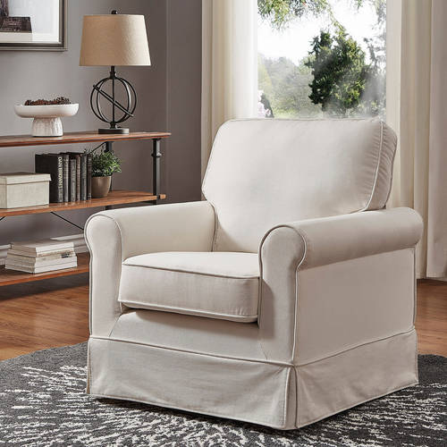 Weston Home Madden Swivel and Rocking Accent Chair, Multiple Colors