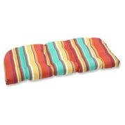 Pillow Perfect Outdoor/ Indoor Westport Brown Wicker Loveseat Cushion