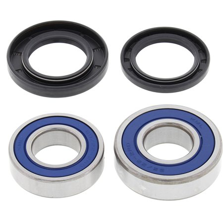Level Bearings - 25-1252 Rear Wheel Bearing Kit, All Balls High-Speed bearings are manufactured to ABEC 3 precision levels By All Balls