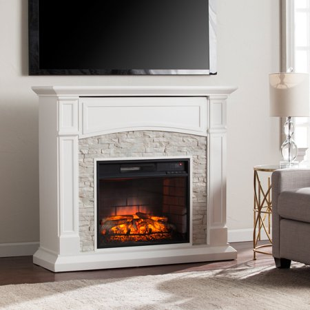 Free Shipping. Buy Southern Enterprises Seneca Infrared Electric Media Fireplace at Walmart.com