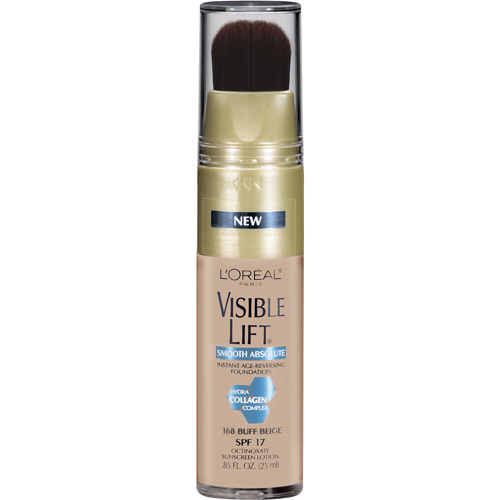 L'Oreal Paris Visible Lift Smooth Absolute Instant Age-Reversing Foundation, 168 Buff Beige