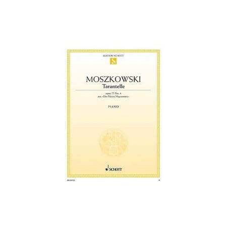 Schott Dix Pieces Mignonnes No. 6, Tarantella, Op. 77 Schott