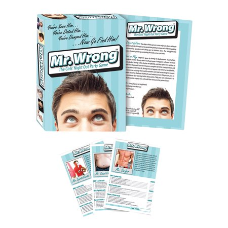 Mr Wrong Party Game