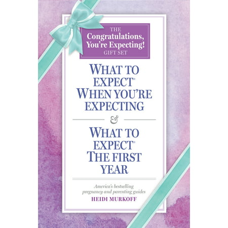 Congratulations, You're Expecting! Gift Set - Paperback The perfect gift for expecting parents: a slipcased set of the bestselling pregnancy and parenting guides. Gift set includes What to Expect When You're Expecting, 5th Edition and What to Expect: The First Year, 3rd Edition, the most beloved and trusted guides. An ideal baby shower gift, these books answer all the questions of mothers- and fathers-to-be and new parents. What to Expect When You're Expecting is the choice of 93% of women who read a pregnancy book, is the book most recommended by doctors, and was named one of the  Most Influential Books of the Last 25 Years  by USA Today.