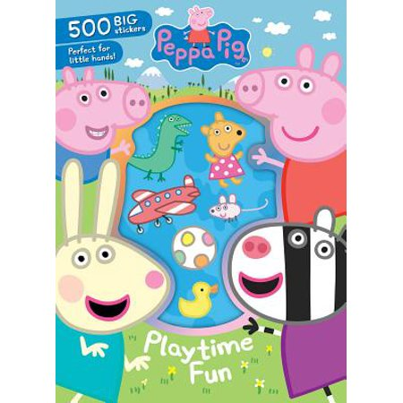 Peppa Pig Playtime Fun: 500 Big Stickers Perfect for Little Hands! (Little Fun At The Big Top Minikit)
