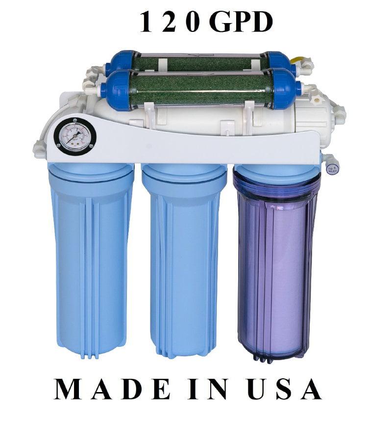Koolermax AR-122 6-stage 120GPD Reverse Osmosis RO + DI w...