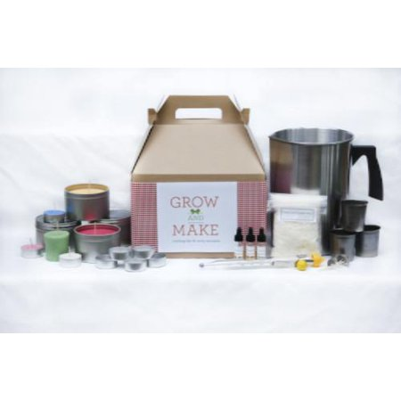 Complete DIY Soy Wax Candle Making Kit with votives ...
