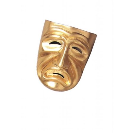 Costumes For All Occasions Ma804 Tragedy Mask - Halloween Tragedies