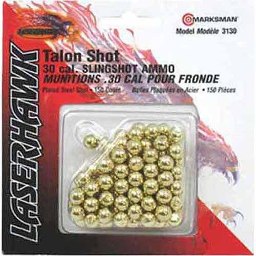 Marksman .30 Caliber Steel Shot Slingshot Ammo, 150 Count