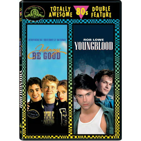 Image of Johnny Be Good / Young Blood Double Feature (Full Frame)