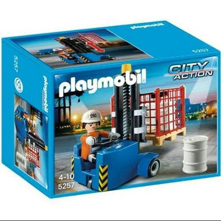 City Action Forklift Set Playmobil 5257