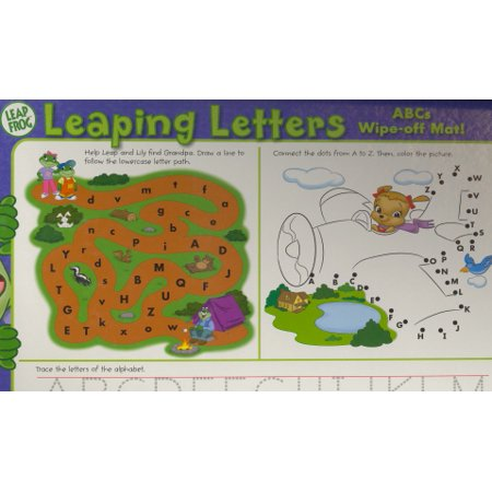 - Leaping Letters (ABCs Wipe-off Mat!, Leap Frog)