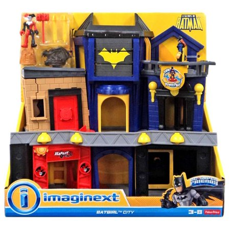 DC Super Friends Imaginext Batgirl City - Batman Playset