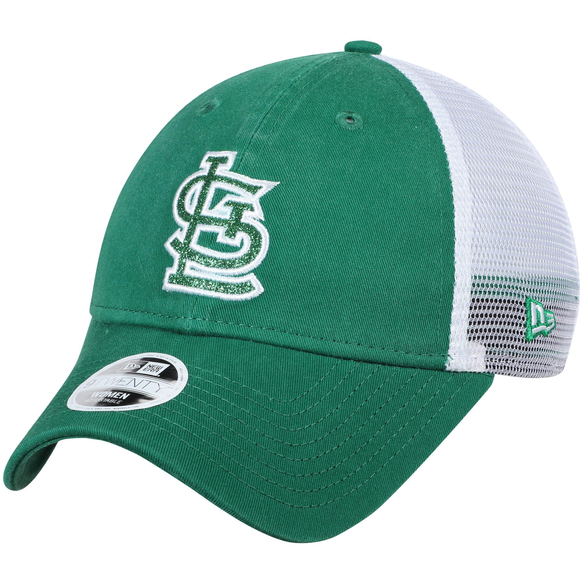 St. Louis Cardinals New Era Women's Trucker Shine St. Patrick's Day 9TWENTY Adjustable Hat - Green - OSFA