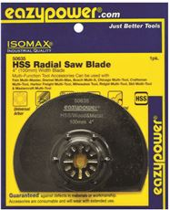 Eazypower 50635 Eazypower Oscillating Hss Radial Saw Blade, 4 In. by Eazypower