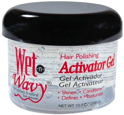 Wet-N-Wavy Hair Pol Activator Gel 1.5 oz. (Pack of 6)