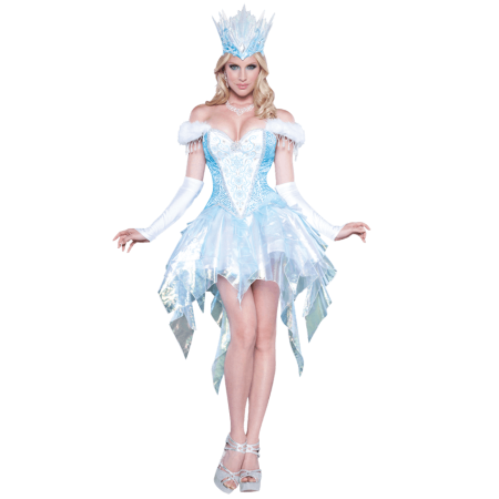 Sexy Snow Queen Adult Costume - Medium
