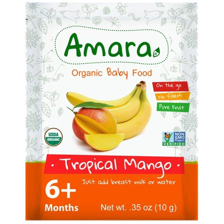 Image of Organic Baby Food, Mango Banana
