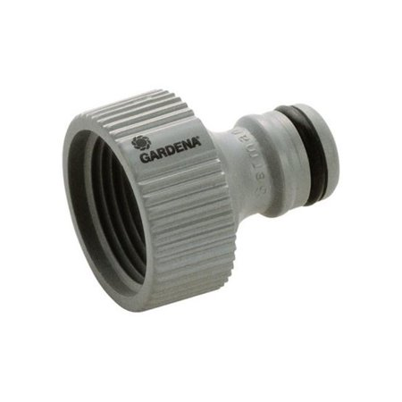 36002-1 0.62 & 0.5 in. Threaded Tap Hose Connector  Nylon-ABS
