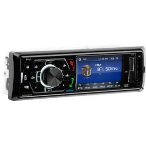 "Boss Audio BV7260B, Single-DIN MECH-LESS Multimedia 3.2"" Player, No CD/DVD, Bluetooth"