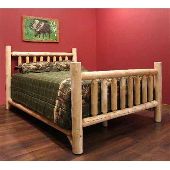 Lakeland Mills ALQ60-C Low Queen Bed Clear by Lakeland Mills