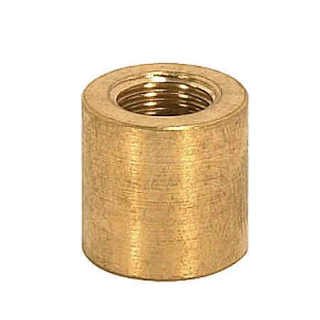 Satco Brass Couplings Unfinished 5/8in Long 5/8in Diameter 1/8 IP