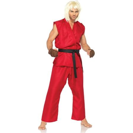 Leg Avenue Men's Street Fighter Ken Costume - Ken Carlson Halloween