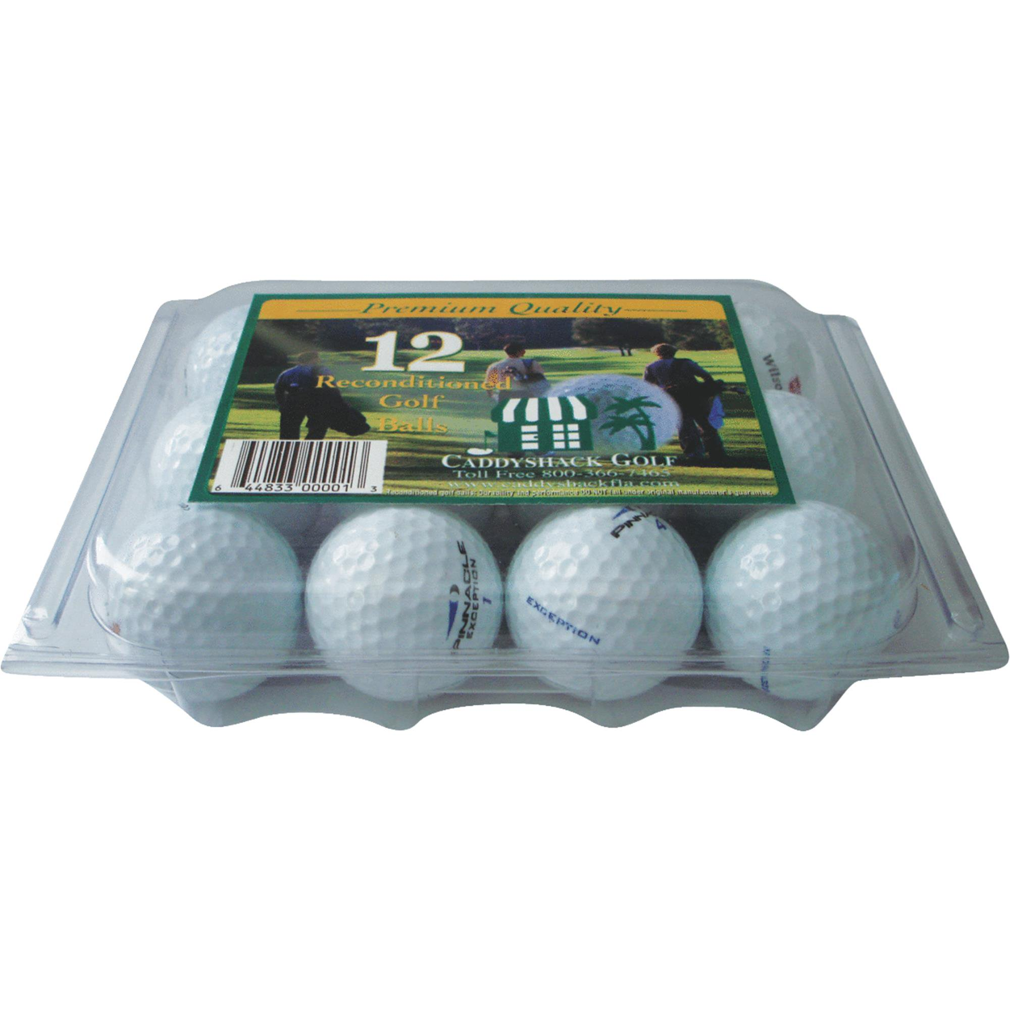 12-Pack Reconditioned Golf Balls