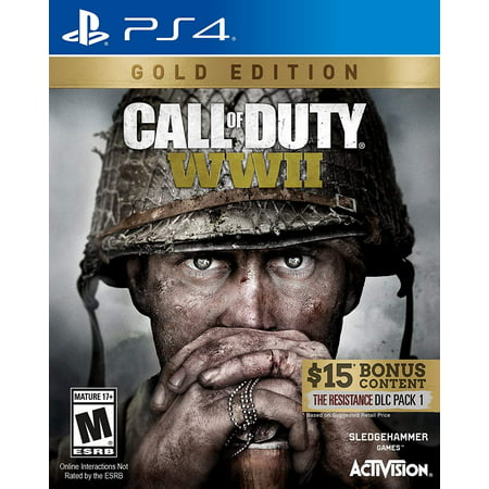 Call of Duty: WWII Gold Edition - PlayStation 4, Includes the resistance DLC Pack 1 By by Activision