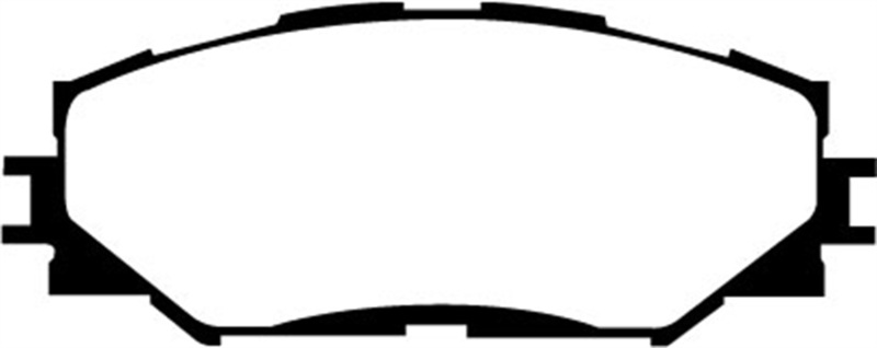 FRONT EBC DP41696//2R YELLOWSTUFF ULTIMATE RACE BRAKE PADS