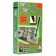 Money Marker (12 Pens) --- Counterfeit Bill Detector Pen with Upgraded Chisel Tip - Detects Fake Counterfit Bills, Universal Currency Detectors Pack (12 Pens)