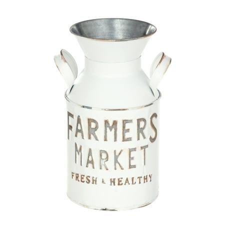 Homezone Farm White Milk Jug, 1 Each - Walmart com