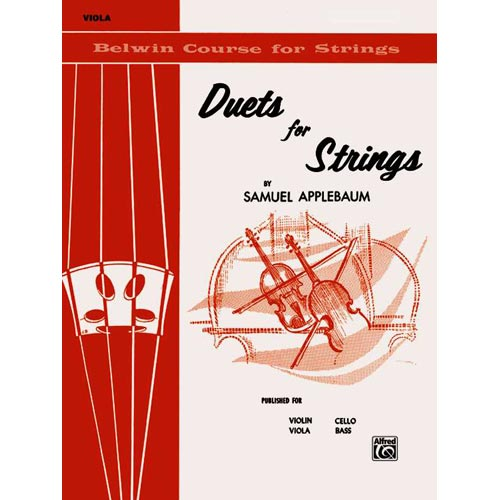 Duets for Strings for Viola, Book I