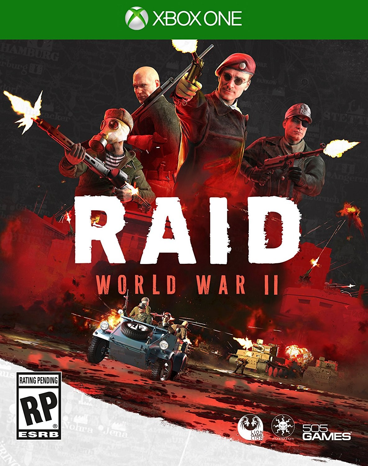 Raid: World War II, 505 Games, Xbox One, 812872019154