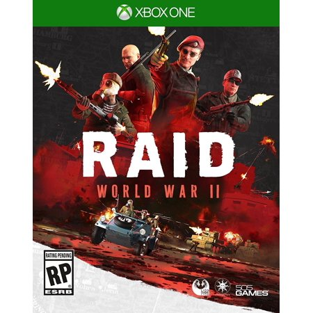 Raid  World War Ii  505 Games  Xbox One  812872019154