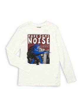 Boy's Make Some Noise Long-Sleeve Tee