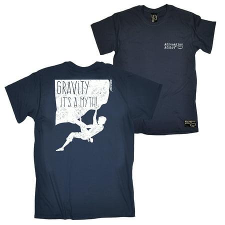 067ae5ef FB Adrenaline Addict Rock Climbing Tee - Gravity Myth Mens T-Shirt Funny  Item Bouldering T Shirts Cheap Tshirts Novelty Shirt Clothing Tees Slogans  ...