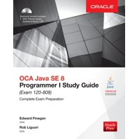 Oracle Press: Oca Java Se 8 Programmer I Study Guide (Exam 1z0-808) (Other)