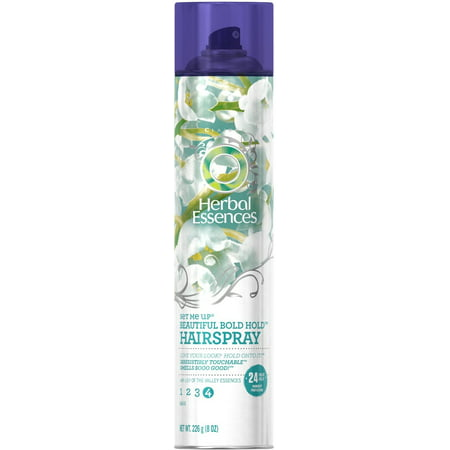 Herbal Essences Set Me Up Beautiful Bold Hold Hairspray 8 Oz