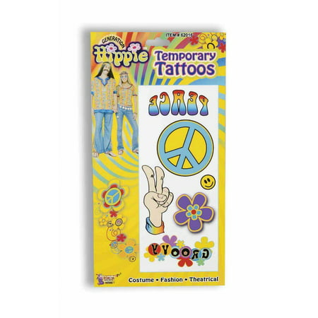 Hippie Tattoos Halloween Costume - Halloween Tree Tattoo