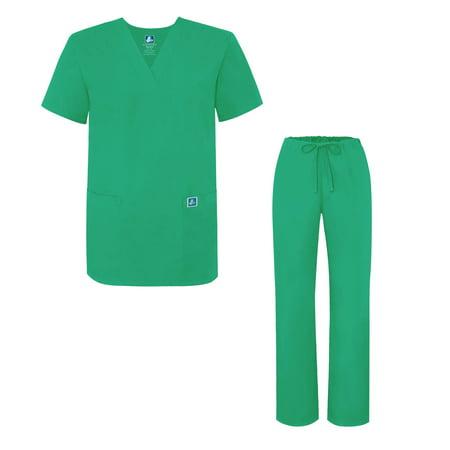 5353b037c38 Adar Uniforms - Adar Universal Medical Scrubs Set Medical Uniforms - Unisex  Fit - 701 - SSP - S - Walmart.com
