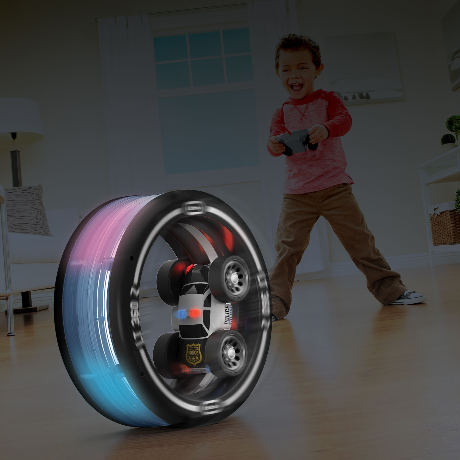Little Tikes RC Tire Twister Lights with Police Siren