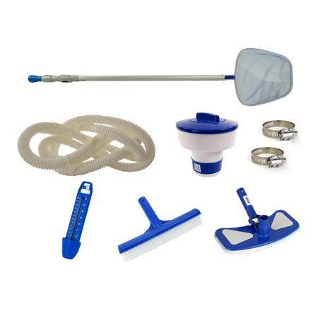 Swim N Play Deluxe Pool Cleaning Maintenance Kit for Above Ground Swimming Pool Deluxe Above Ground Swimming Pool