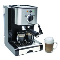 Capresso  EC100 Stainless Steel Pump Espresso and Cappuccino Machine (Refurbished)