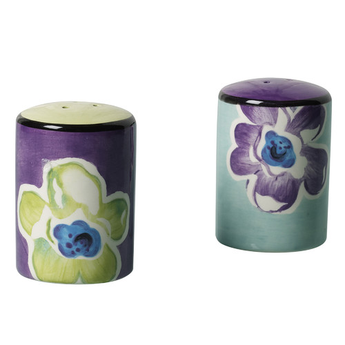 Happiness 2 Piece Salt and Pepper Shaker Set