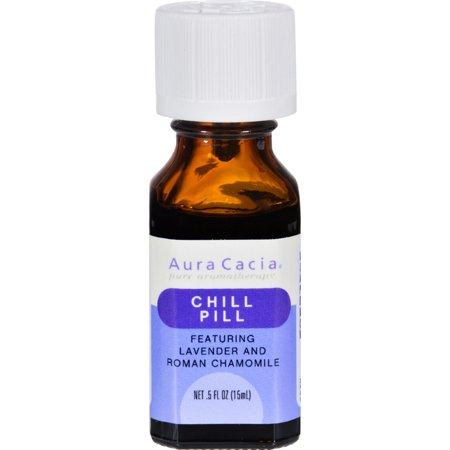Aura Cacia Chill Pill Calming Pure Essential Oil Blend - 0.5 fl oz