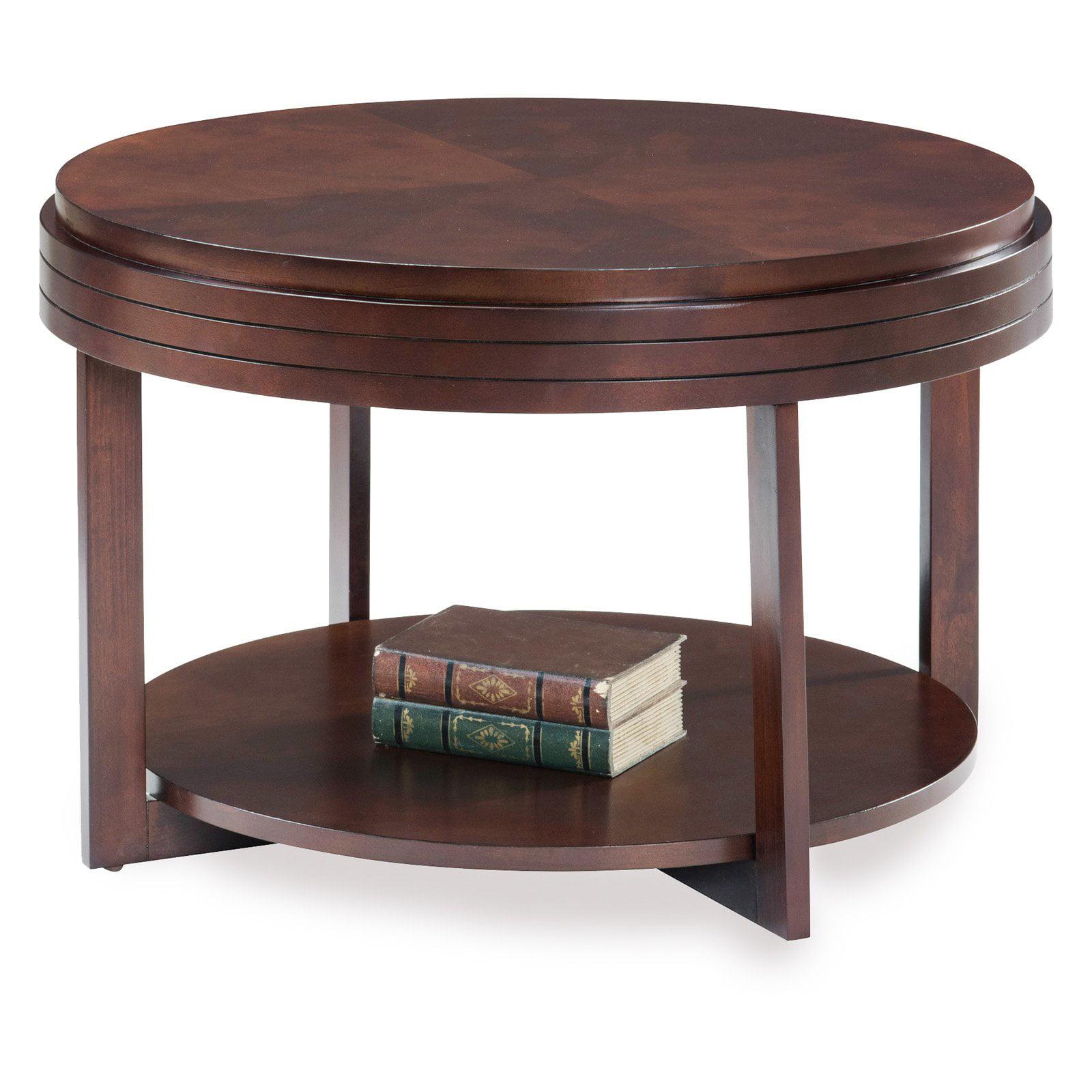 - Leick Home Round Condo/Apartment Coffee Table - Walmart.com